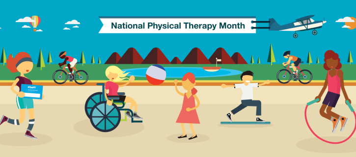 October is National Physical Therapy Month!