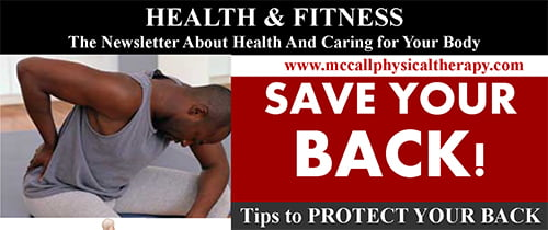 Save Your Back