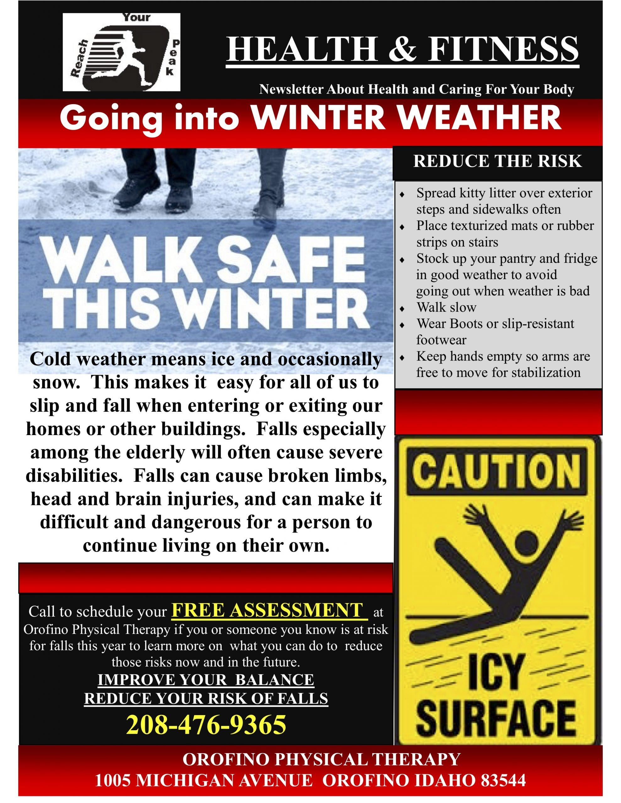 Walk safe in winter