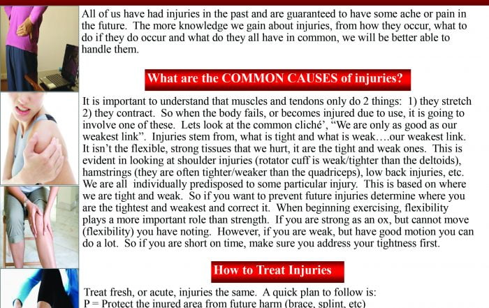 What Injuries Have In Common