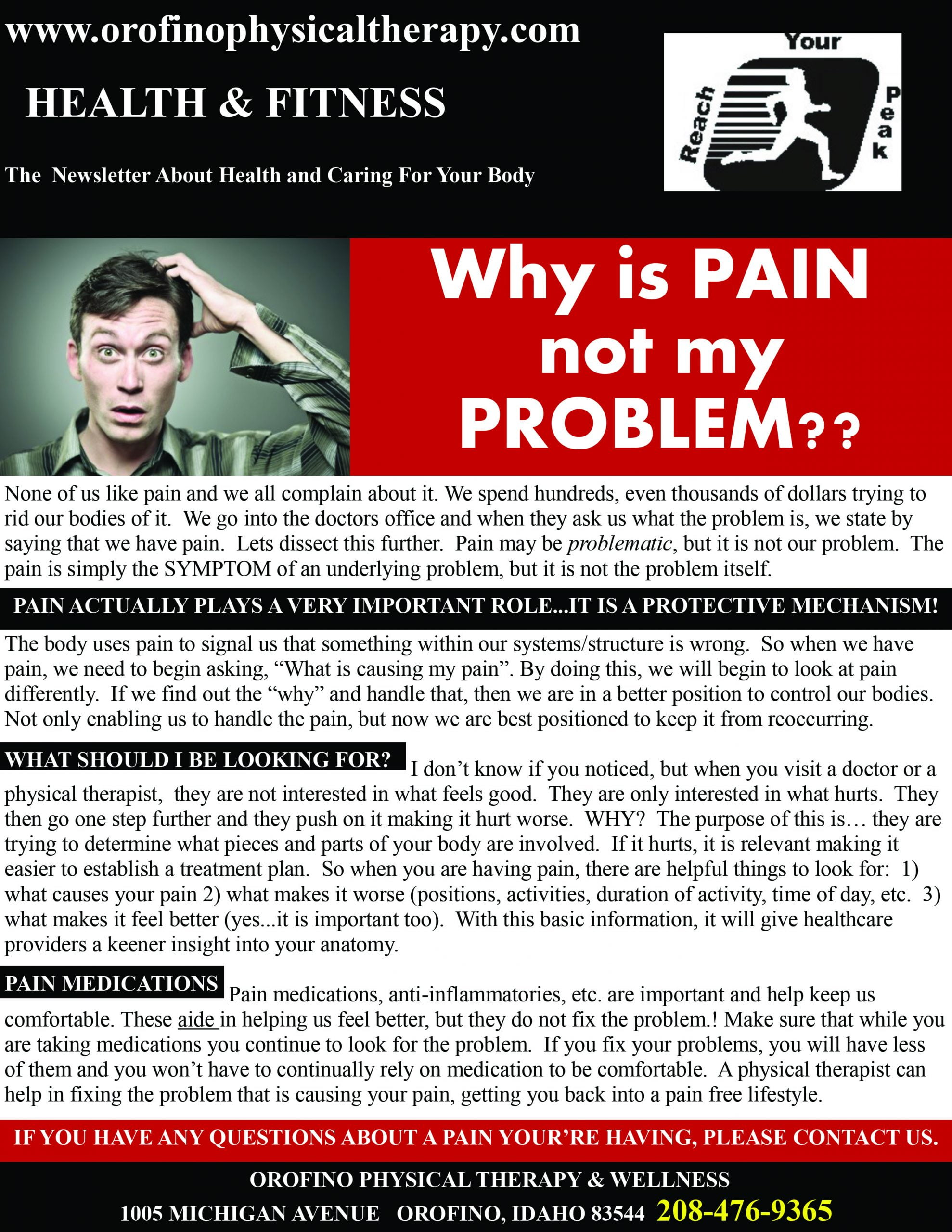 Why is Pain not my problem