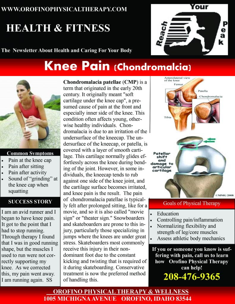 chondromalacia -Knee Pain